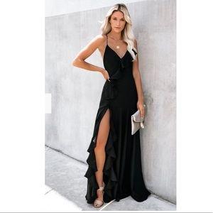 VICI Black Maxi Dress